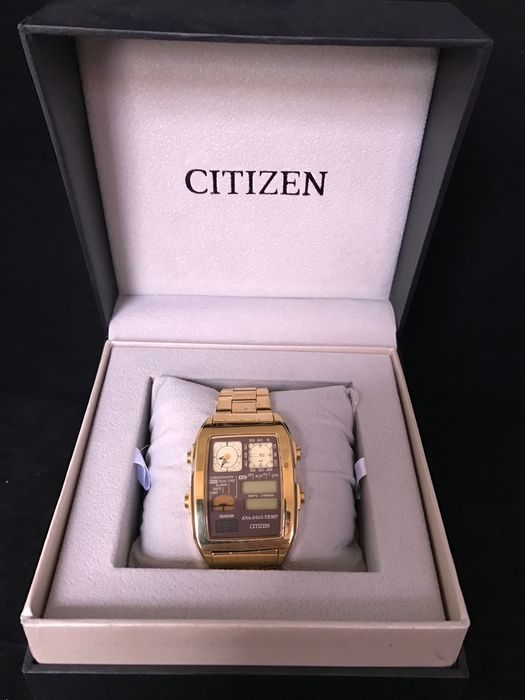 Citizen Retro Ana-Digi Temp
