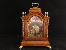 Table Clock walnut Warmink (WUBA) - Late 20th century - The Netherlands