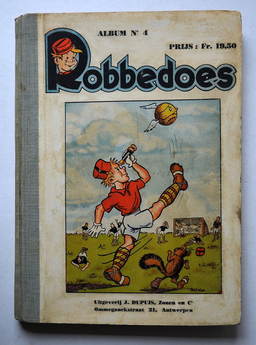 Robbedoes bundling 04a - hc - 1st edition - (1939)