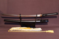 Beautiful Katana Traditionally forged by hand for Tamashigiri or Iaito - 21st Century
