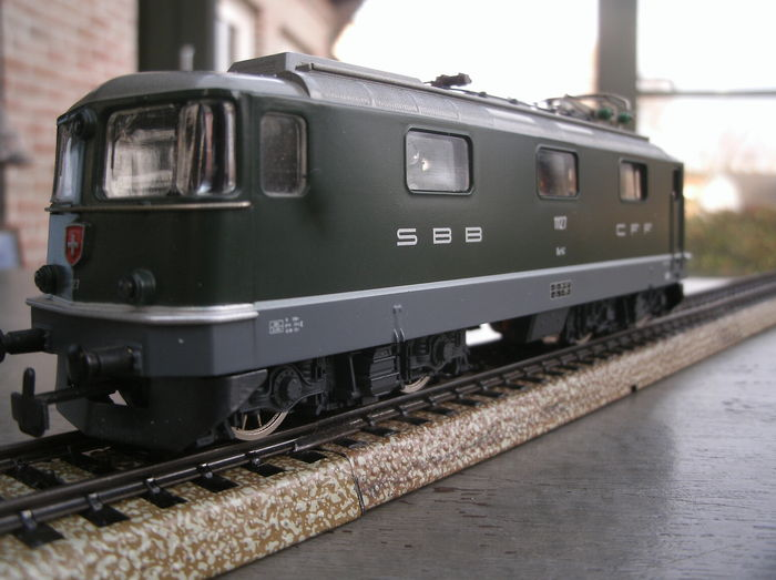 HAG H0 - 160 - Electric locomotive of the SBB, Re 4/4II