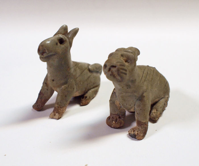 Celadon animals - China - 960–1279 ( Song dynasty )