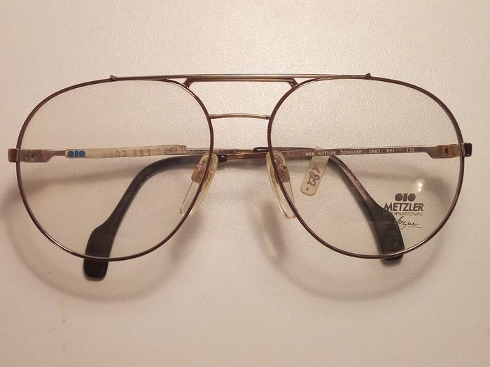 Metzler - glasses - men's