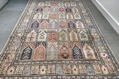 Exclusive 100% silk Kayseri Persian carpet – 178 x 115 cm – with certificate – collector's item