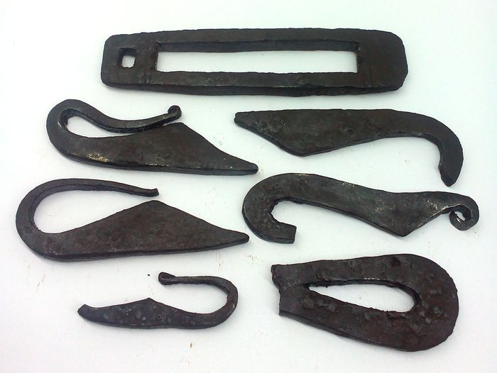 iron fire lighters Viking period - 55 \ 115mm(7)
