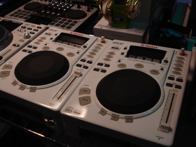 Vestax CDR-07 set, 2 pieces