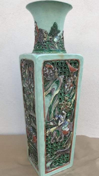 Porcelain vase - China - Ca 1900