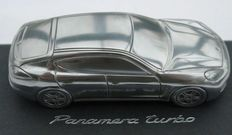 Porsche Panamera Turbo Dealer's Model. Limited Edition in solid aluminium - Scale 1/43