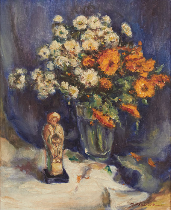 Early 20th cent. School - Nature morte aux fleurs