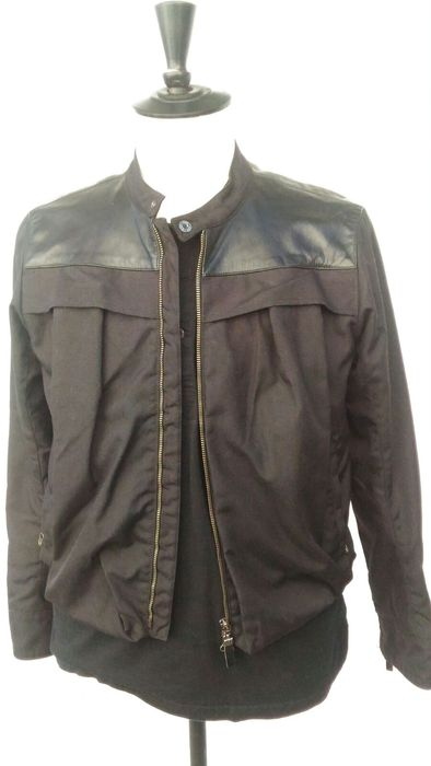 "Gianfranco Ferre"" GFF - Jacket with leather details"