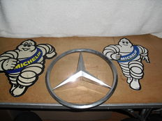 michelin and mercedes star, grill signs -1980-