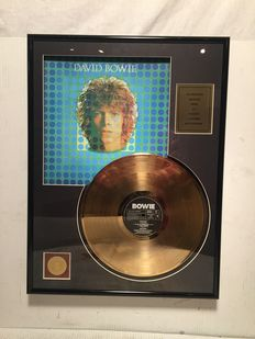 David Bowie - David Bowie - 24 K Gold plated Record