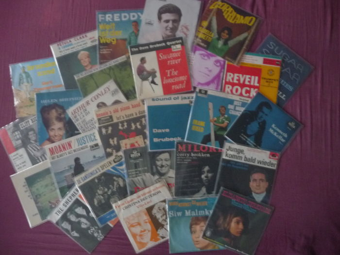 35 Original  Singles From The Fifties And Sixties , A Few Rare Jazz