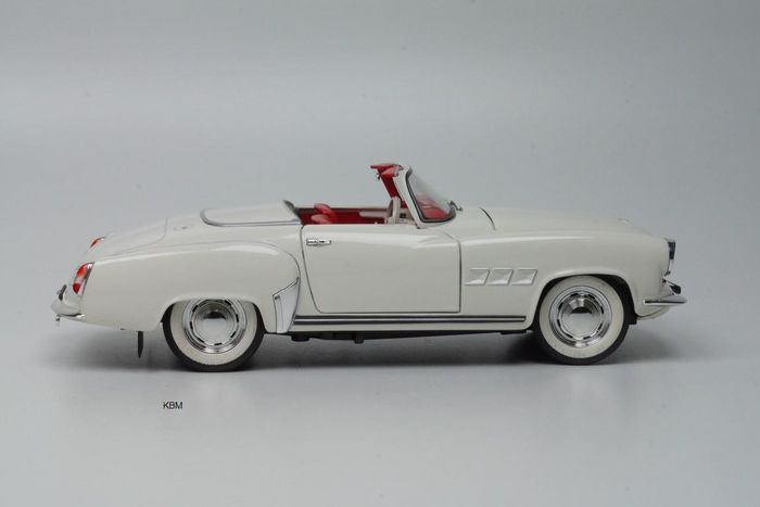 revell scale 1 18 wartburg 311 cabriolet 1959 white. Black Bedroom Furniture Sets. Home Design Ideas
