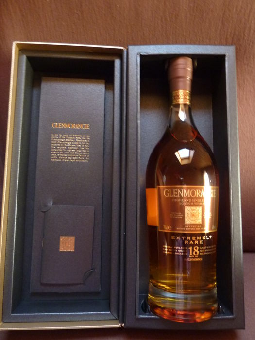 Glenmorangie  18 years old Extremely Rare - 70cl