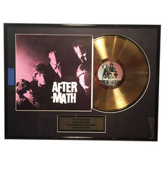 Rolling Stones - After-Math - 24 K Gold plated Record