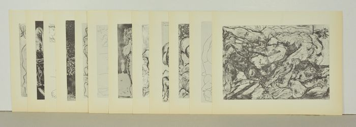 Pablo Picasso (after) - 12 lithosgraphs from Suite Vollard