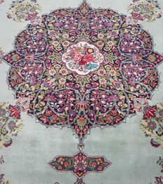 Persian Tabriz signed Torabi - around 1950