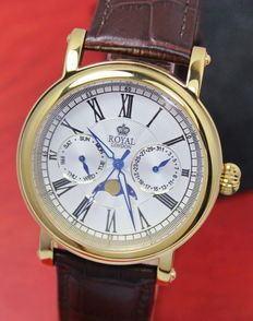 Royal London – Men's Moon phase Watch – unworn