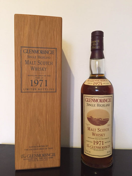 Glenmorangie 1971 - 150th Anniversary bottling - OB