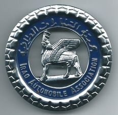 Iraq Automobile Association Car Club Badge