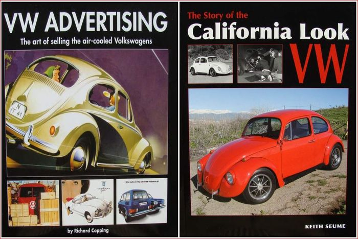 2 Books - VW Advertising + California Look VW - 2014 (2 items)