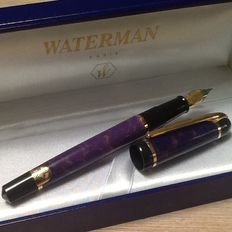 Waterman Phileas fountain pen and roller.