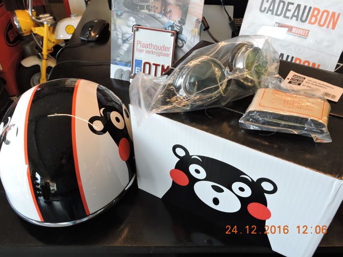 Helmet - Honda - Kumamon - Limited edition - 2010
