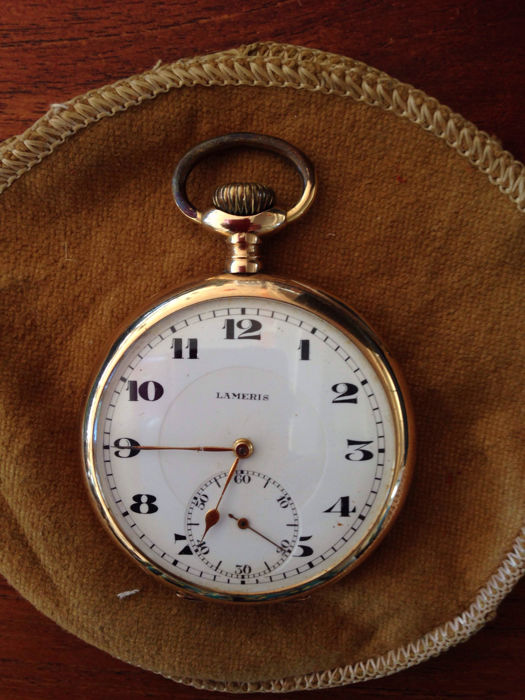 Lameris men's pocket watch, circa 1920