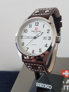 Grovana Swiss Alpine Military – men's wristwatch – never worn.
