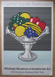 Roy Lichtenstein - Still Life with Crystal Bowl - Visit the Garden Restaurant