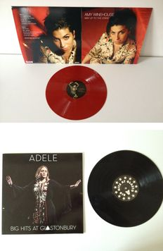 """Lot Of Two LP's By UK's Leading Ladies;  """"Adele""""  &  """"Amy Winehouse""""  (R.I.P)"""