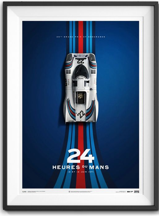 Porsche 917 Limited Edition Artwork