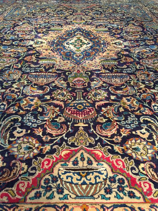 Big Persian Kashmar! Very valuable! Investment! Oriental carpet/ carpet hand-woven
