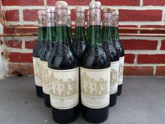 1983 Chateau Haut-Brion, 9 bottles, very good condition.
