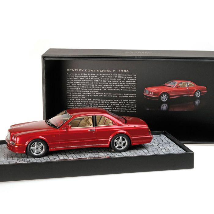 MiniChamps - 1:18 - Bentley Continental T 1996 - Limited Edition of 999 pcs. (Individually Numbered)