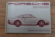 Porsche 959 manual user guide