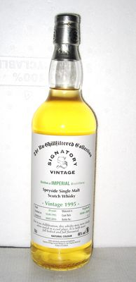 Imperial 1995 20 Years old - Speyside - 70cl - 46% - Signatory Vintage