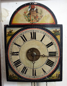 Black Forest clock of the type known as 'ratera'