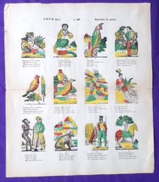 Catchpenny prints; Lot with 6 prints from various countries - c. 1860 / 1880