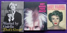 Monography; Lot with 3 books -1999/ 2007/2008
