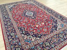 Magnificent Persian KESCHAN - approx. 302 x 198 cm - IN VERY GOOD CONDITION!