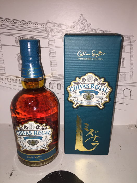 Chivas regal Mizunara limited edition 70 CL 40 °