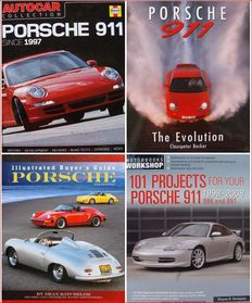 4 Books on Porsche > Illustrated Buyer's Guide Porsche,  101 Projects for Your Porsche 911 ......