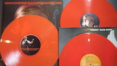 David Bowie - When God Was An Englishman (76 Station To Station Vancouver Rehearsals) Limited 2LP on RED vinyl  + 'Heroes' album on RED vinyl