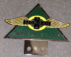 3 - 4 Morgan Group car badge emblem - late 20th century