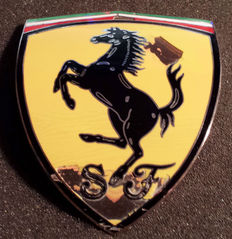 Original Ferrari emblems - Used - 2nd half previous century