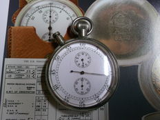British split-seconds chronograph of the RAF from WW II