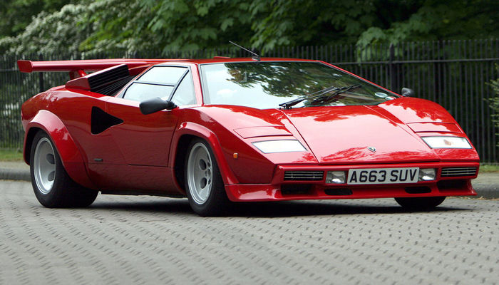 Lamborghini Countach 2 Original Side Windows Tinted 1974 1990