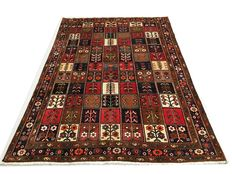 Exceptional handmade Persian rug Old Bakhtiar measuring 300x225 cm from around 1980!